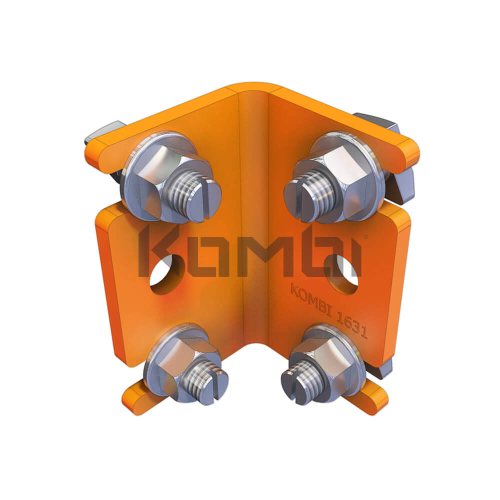 Image of Kombi Angle Bracket  KB013.80 for Kombi 90 degree corners - click to download