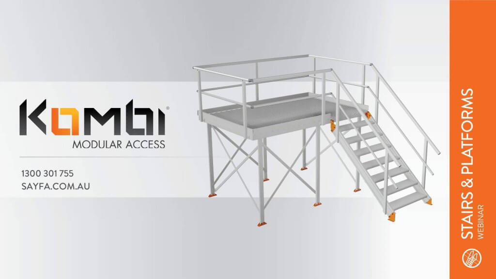 Kombi Stair & Platform Webinar 1 - Introduction to Kombi - click to view