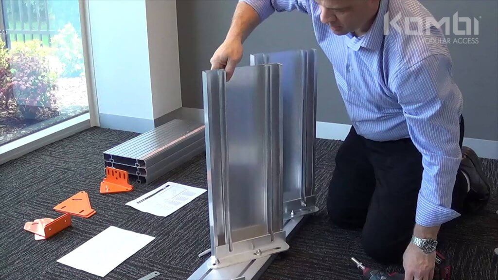 Kombi Stair & Platform Webinar 3 - Assembling the stairway - click to view
