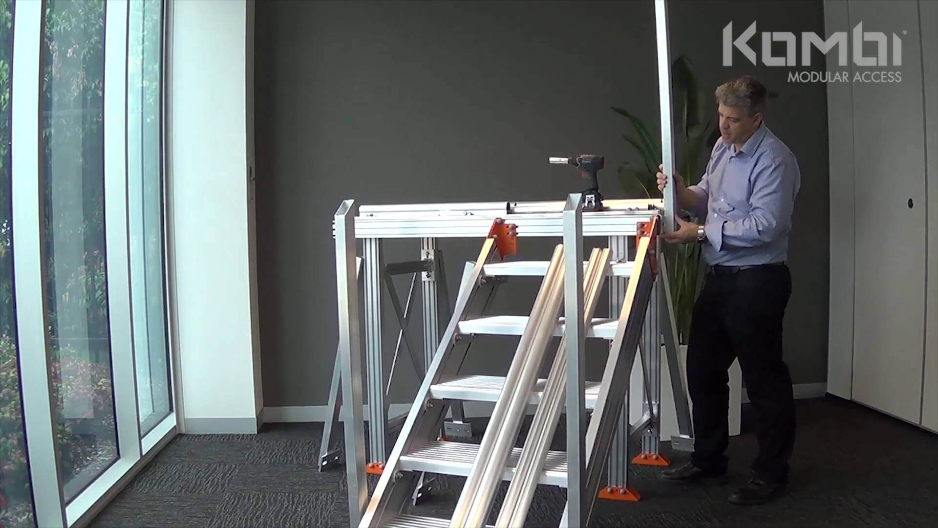 Kombi Stair & Platform Webinar 4 - Installing the Guardrail - click to view