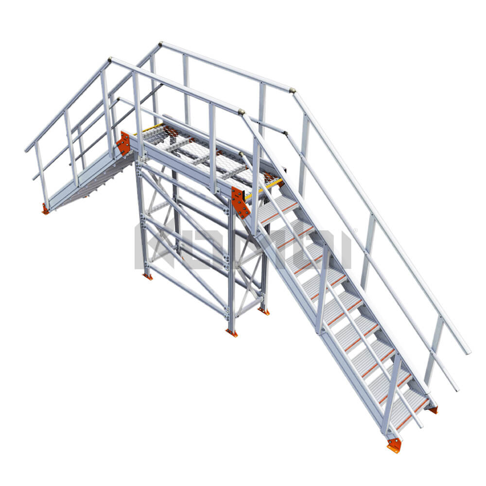 Image of Kombi KS100 stair bridge / crossover - click to download