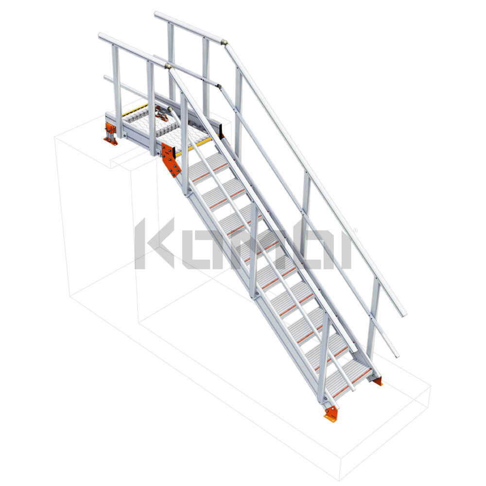 Imag eof Kombi KS20 Stair and Platform with no supports - click to download