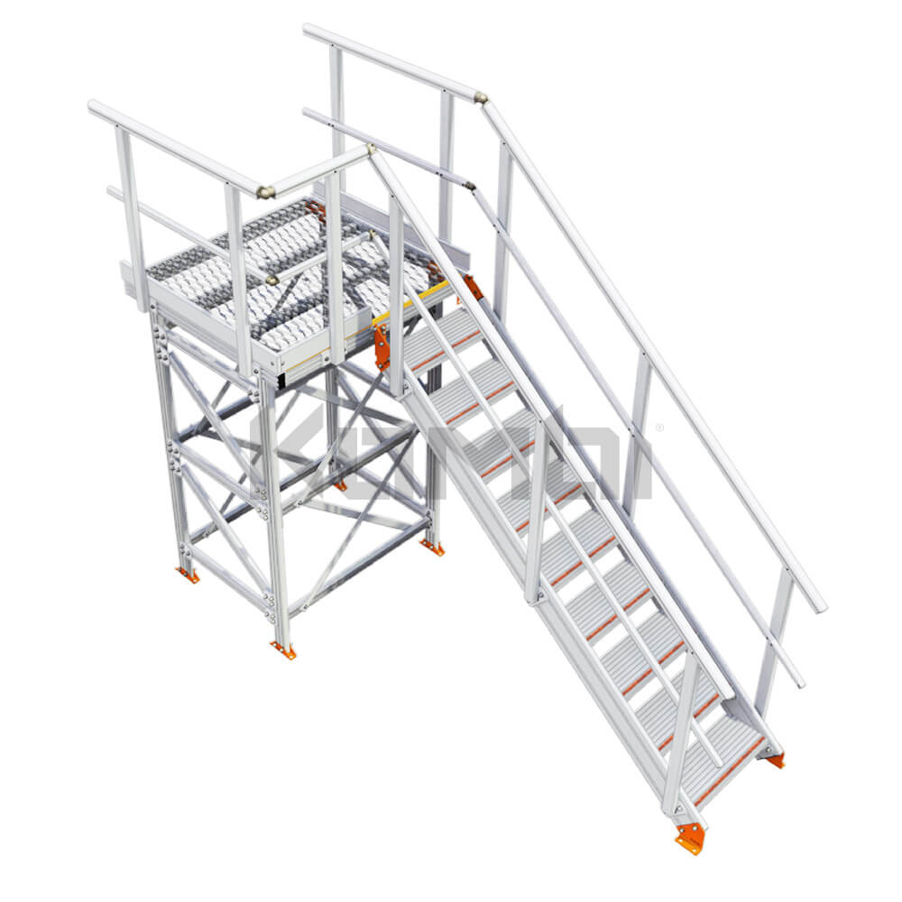 Image of Kombi KS70 stair and platform - click to download
