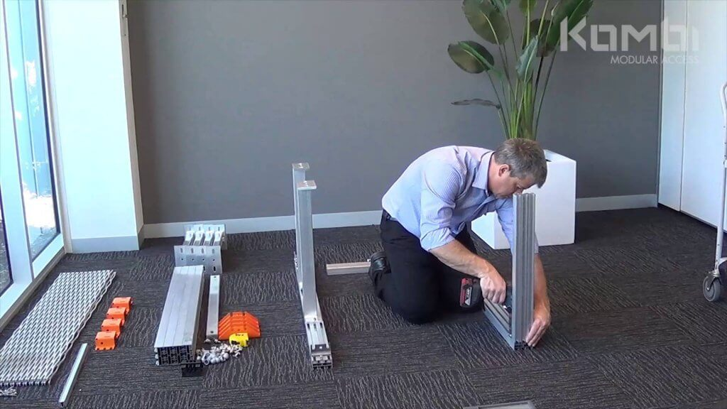 Kombi Stair & Platform Webinar 2 - Assembling the post supports & platform - click to view video