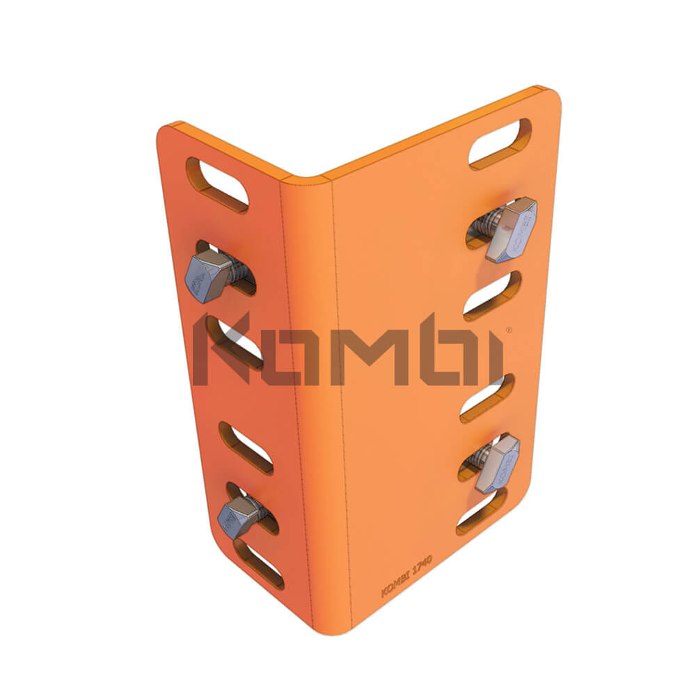 Image of Kombi KB013.180 Angle Bracket for 90 degree corners - click to download
