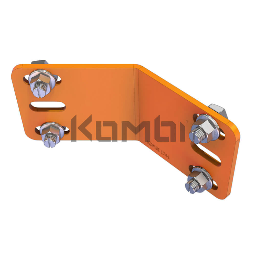 Image of Kombi KB015.80 Angle Bracket Kit 45 degree angle corners - click to download