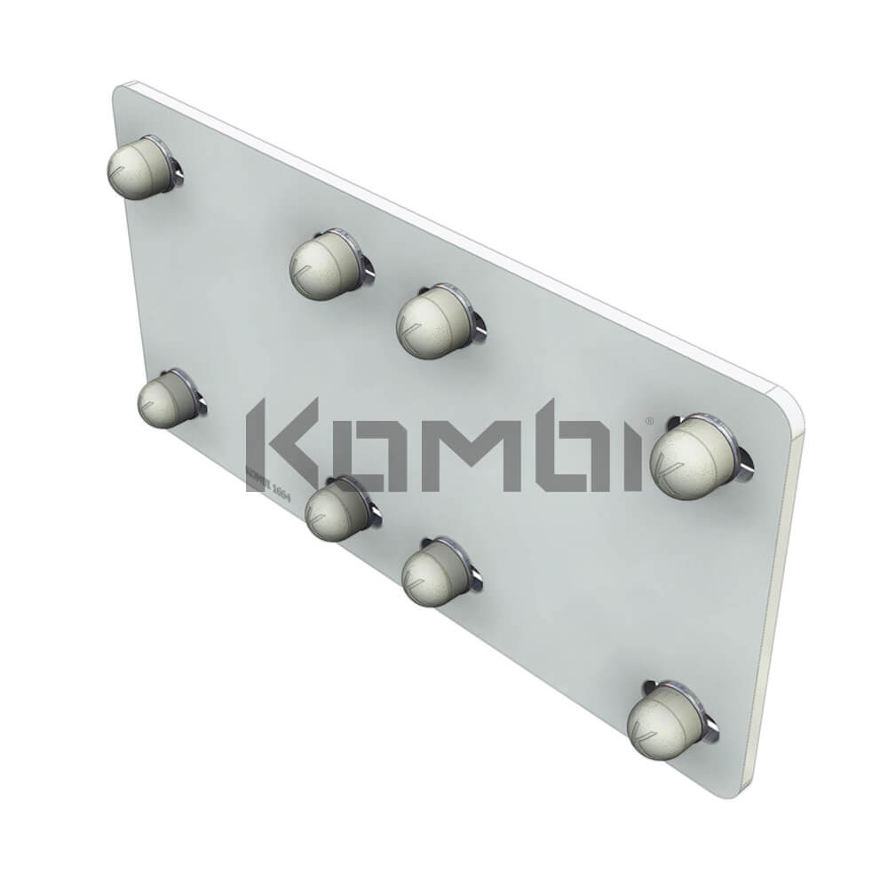 Image of Kombi KB016.180 Joining Plate for Kombi 180 extrusion - click to download