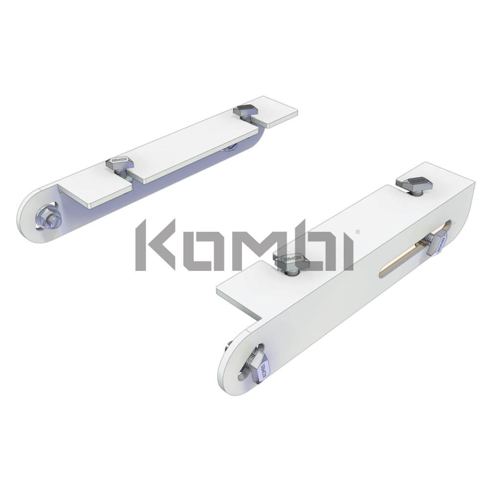 Image of Kombi KB019 Stair Tread Connection Bracket for connection of stair treads to stringers - click to download