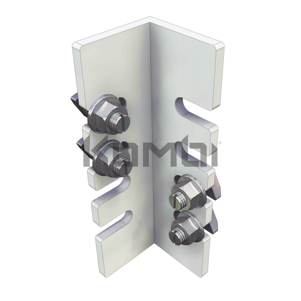 Image of Kombi KB004 for connection of Joist to Bearer Bracket - click to download