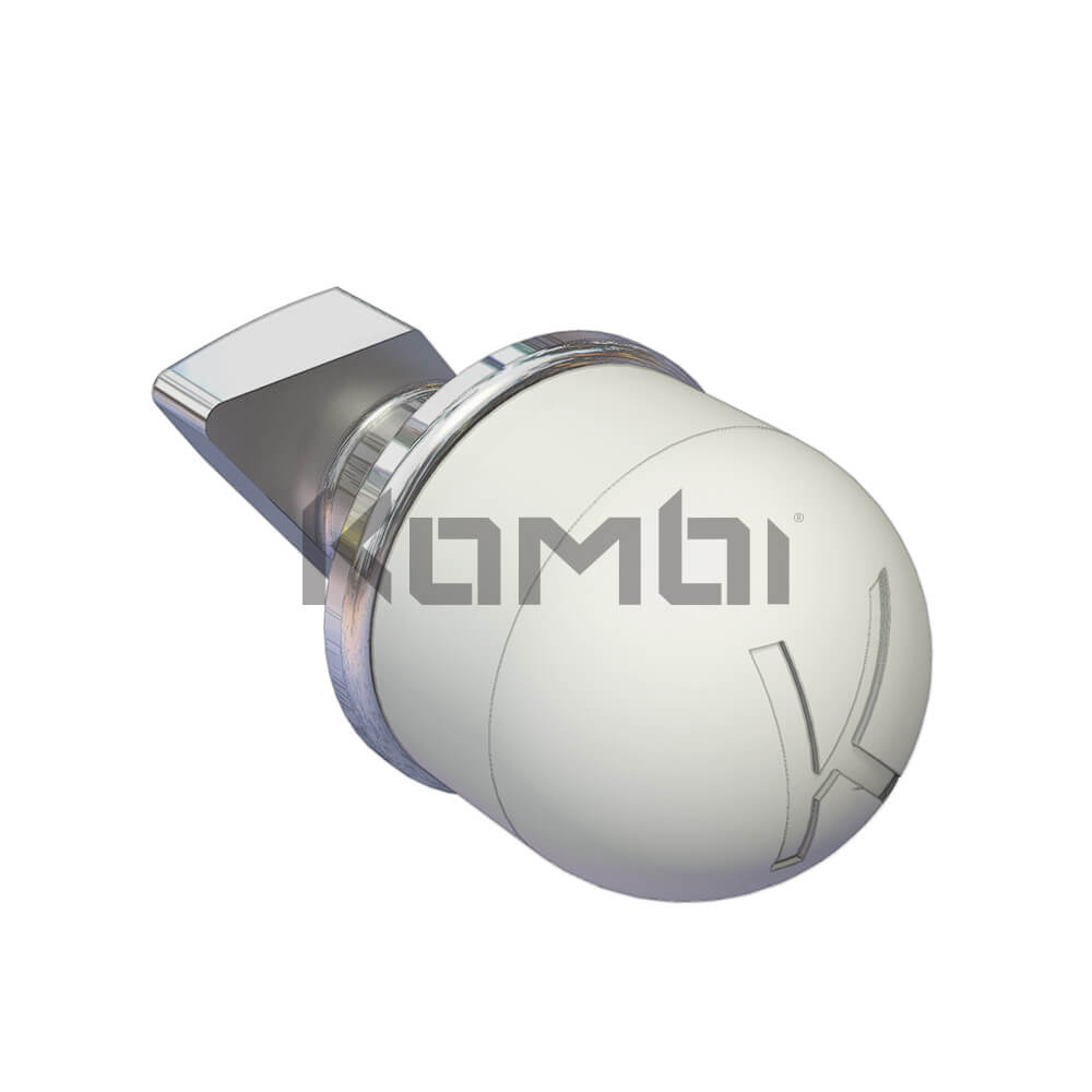 Image of Kombi KB005C T-Bolt Nut Cap protects all exposed T-Bolt ends - click to download