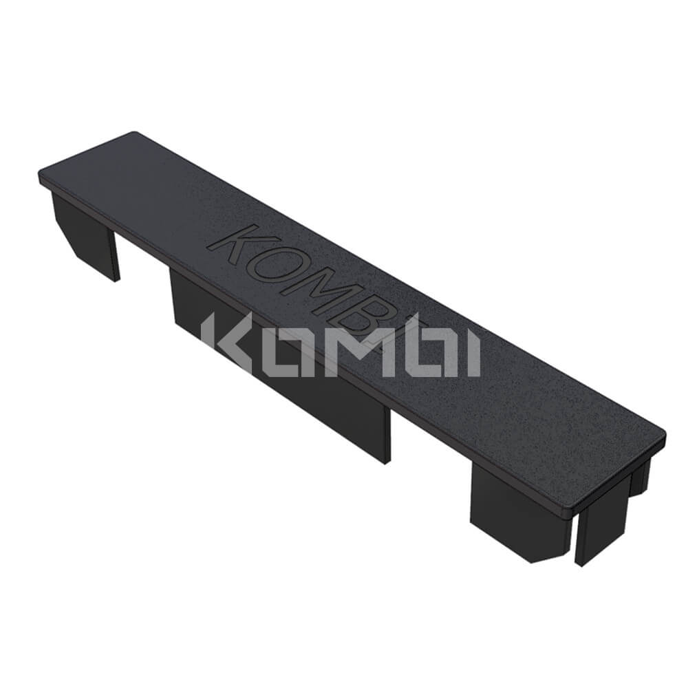 Image of Kombi KB092.180 End Cap used for protection of exposed ends of Kombi 180 extrusion - click to download