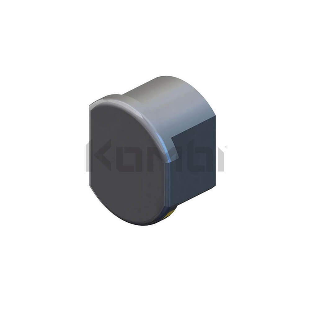 Image of GW379 Kombi Kneerail End Cap for protection to exposed ends of kneerail - click to download