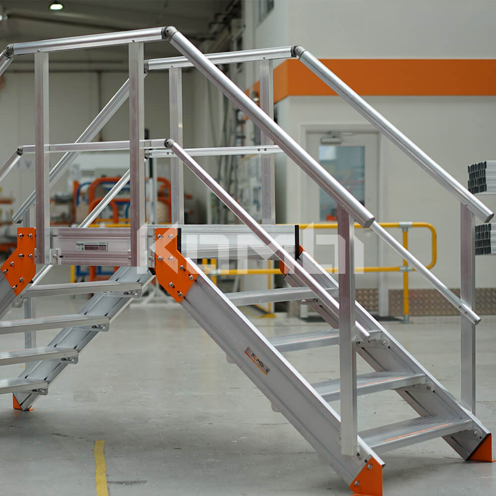 Image of Kombi Crossover Bridge in factory - click to download
