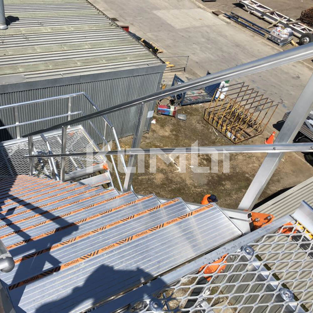 Image showing view from top of Kombi stair and platform system - click to download