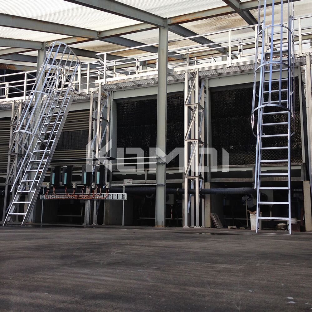 Image of Kombi elevated walkways providing access to upper level - click to download