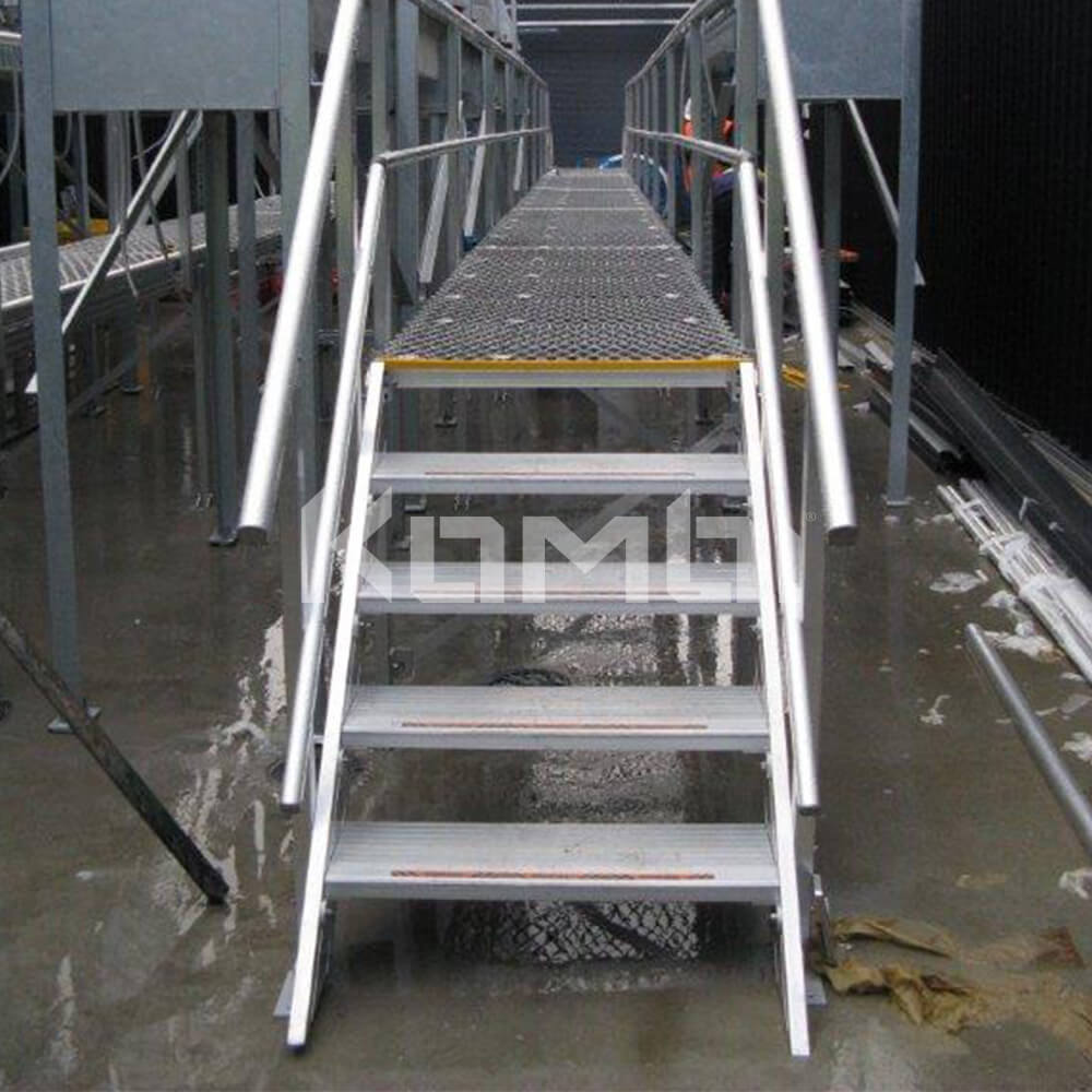 Image showing aluminium Kombi stairs, platforms and elevated walkways - click to download
