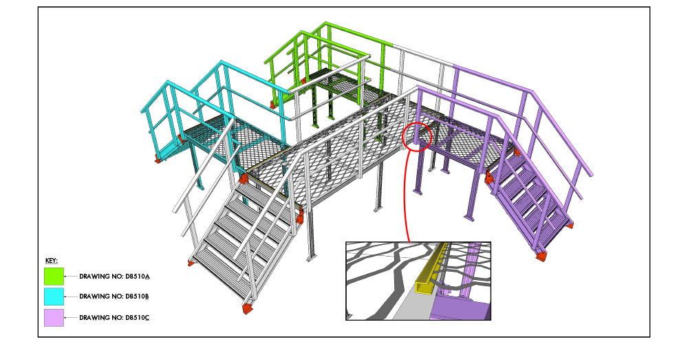 Kombi Stair and Crossover System Case Study