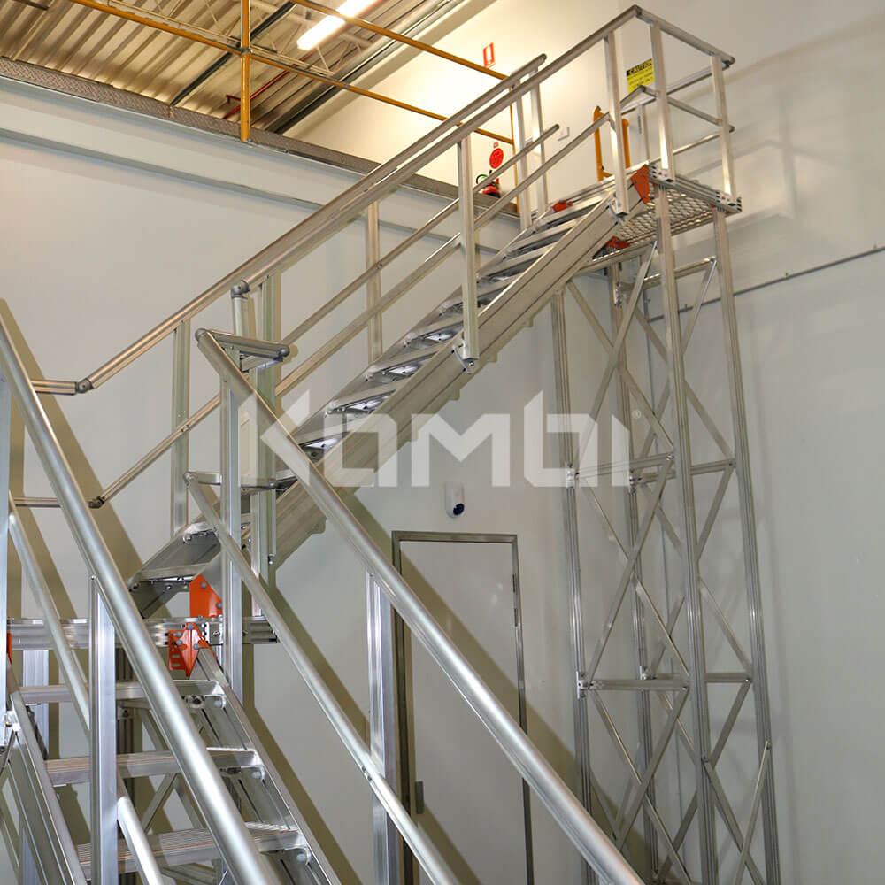 Kombi modular stair and platform systems