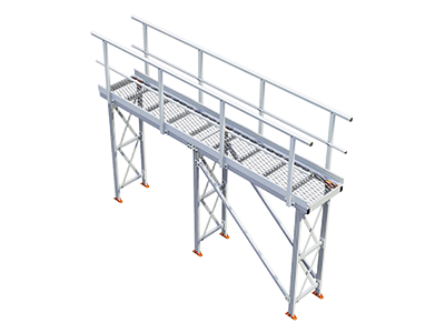 Kombi Elevated Walkway for Cooling Towers and HVAC