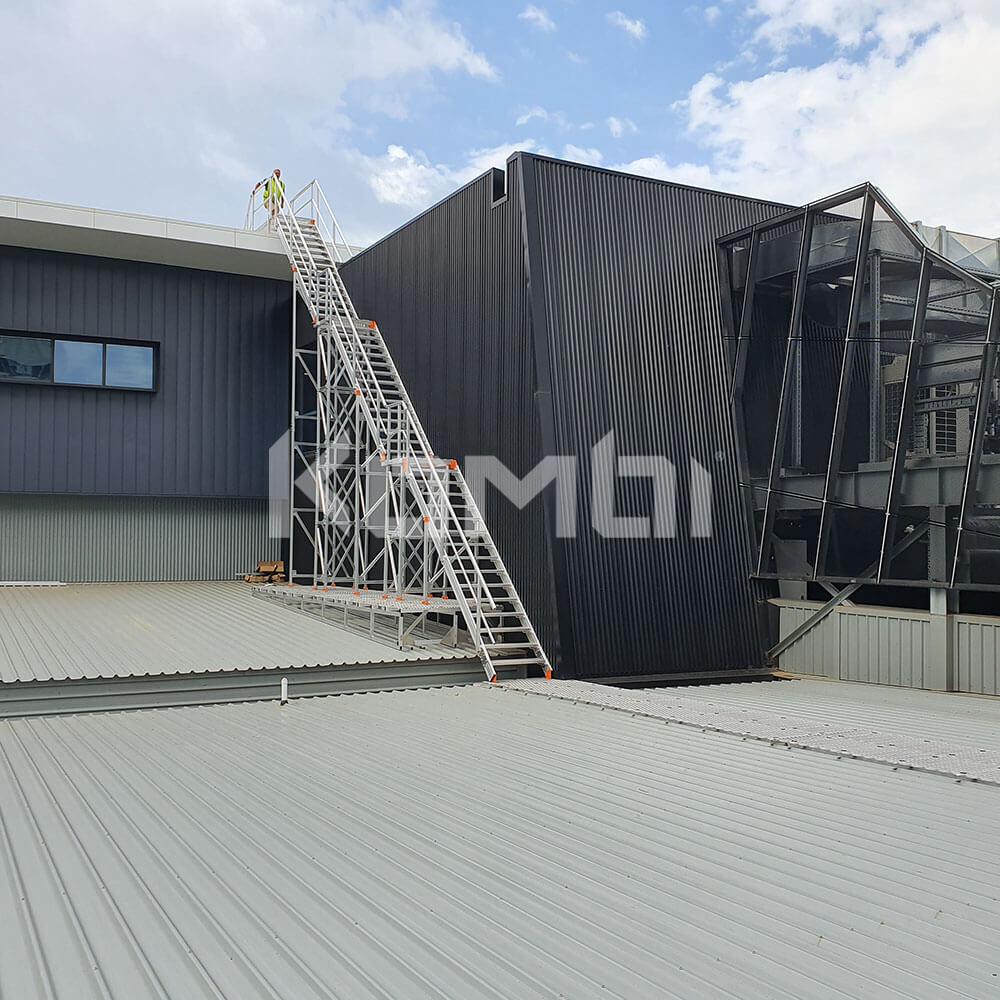 Kombi modular aluminium stair and access platform systems for safe access