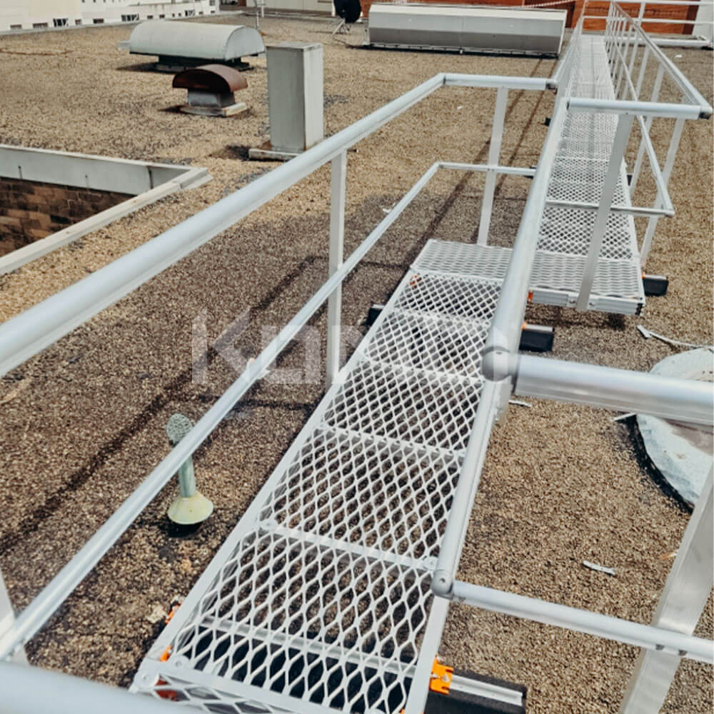 Kombi Walkway provides access to HVAC plant to roof top