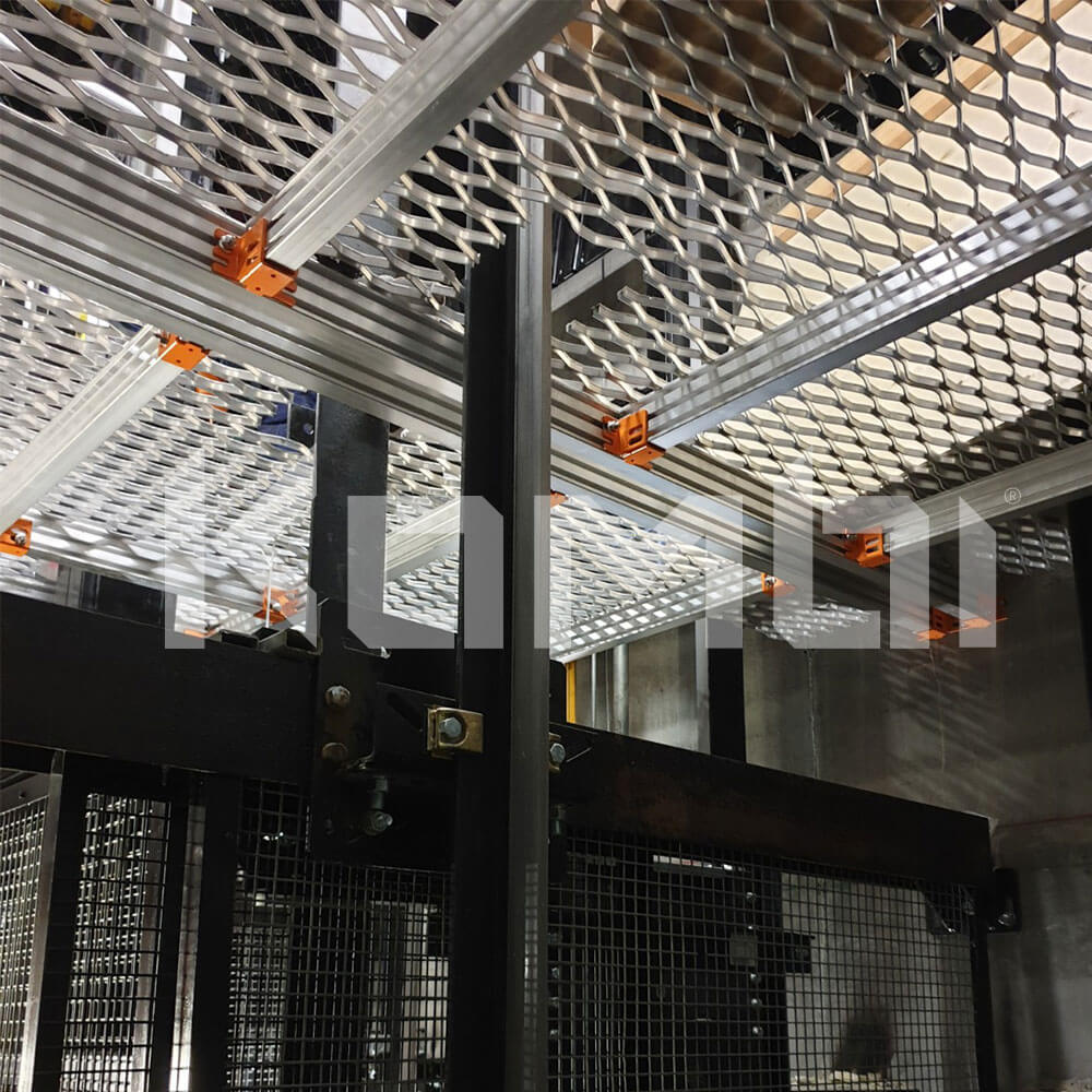 KOMBI Platforms providing Lift Pit Access for Otis Lifts