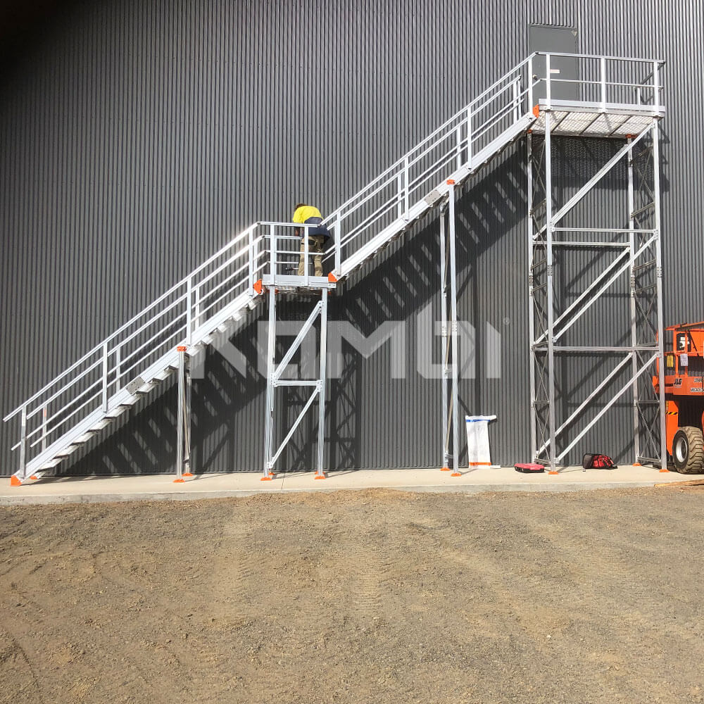 KOMBI Stairs installed at avocado industry production farm